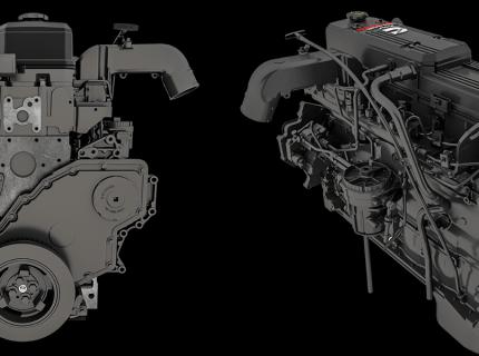 Cummins Parts Catalog 3D Rendering