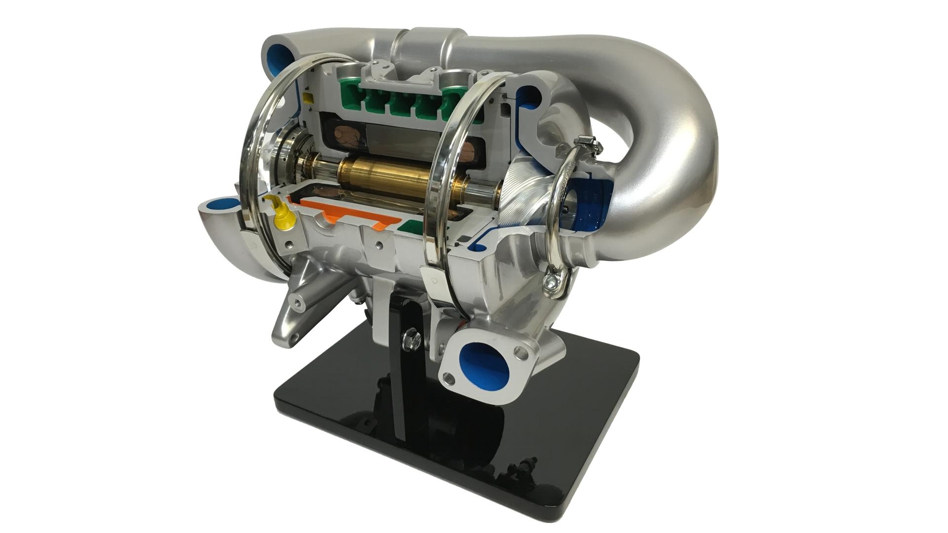 Honeywell Turbo Cutaway Display