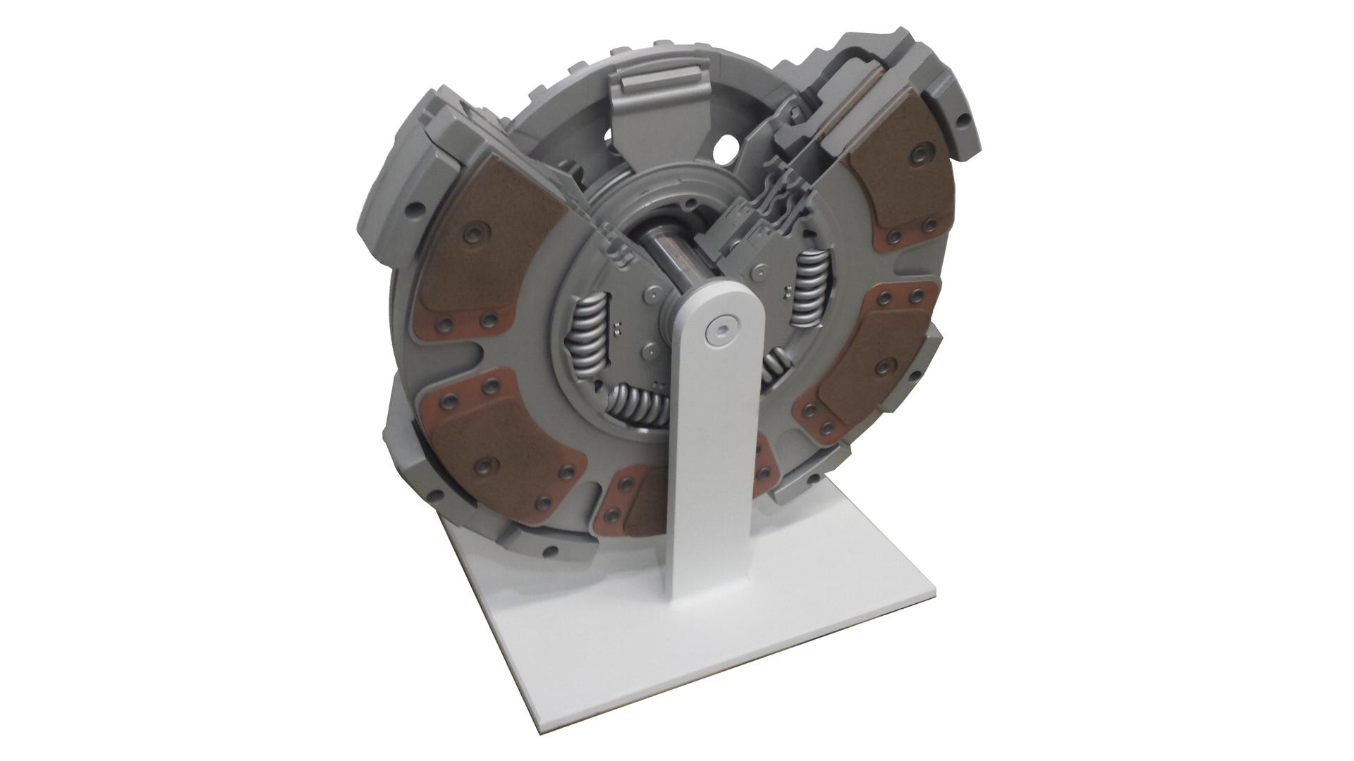 Eaton Clutch Cutaway Display