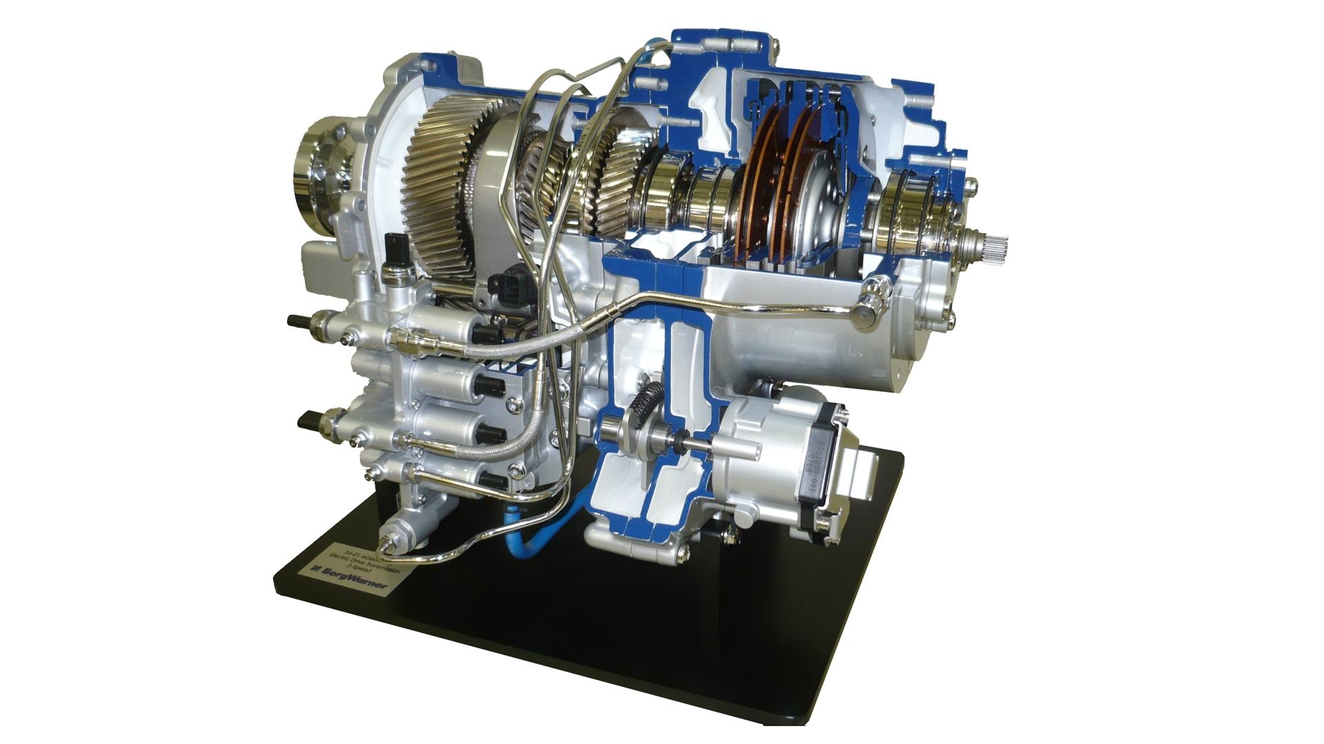 BorgWarner Transmission Cutaway Display