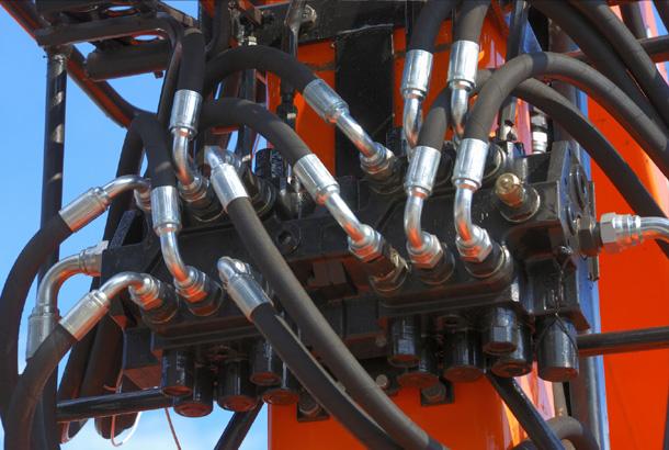 Fluid power cutaways