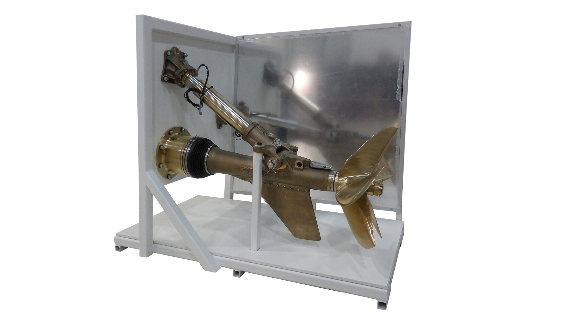 ZF Marine Shaft and Propeller Display