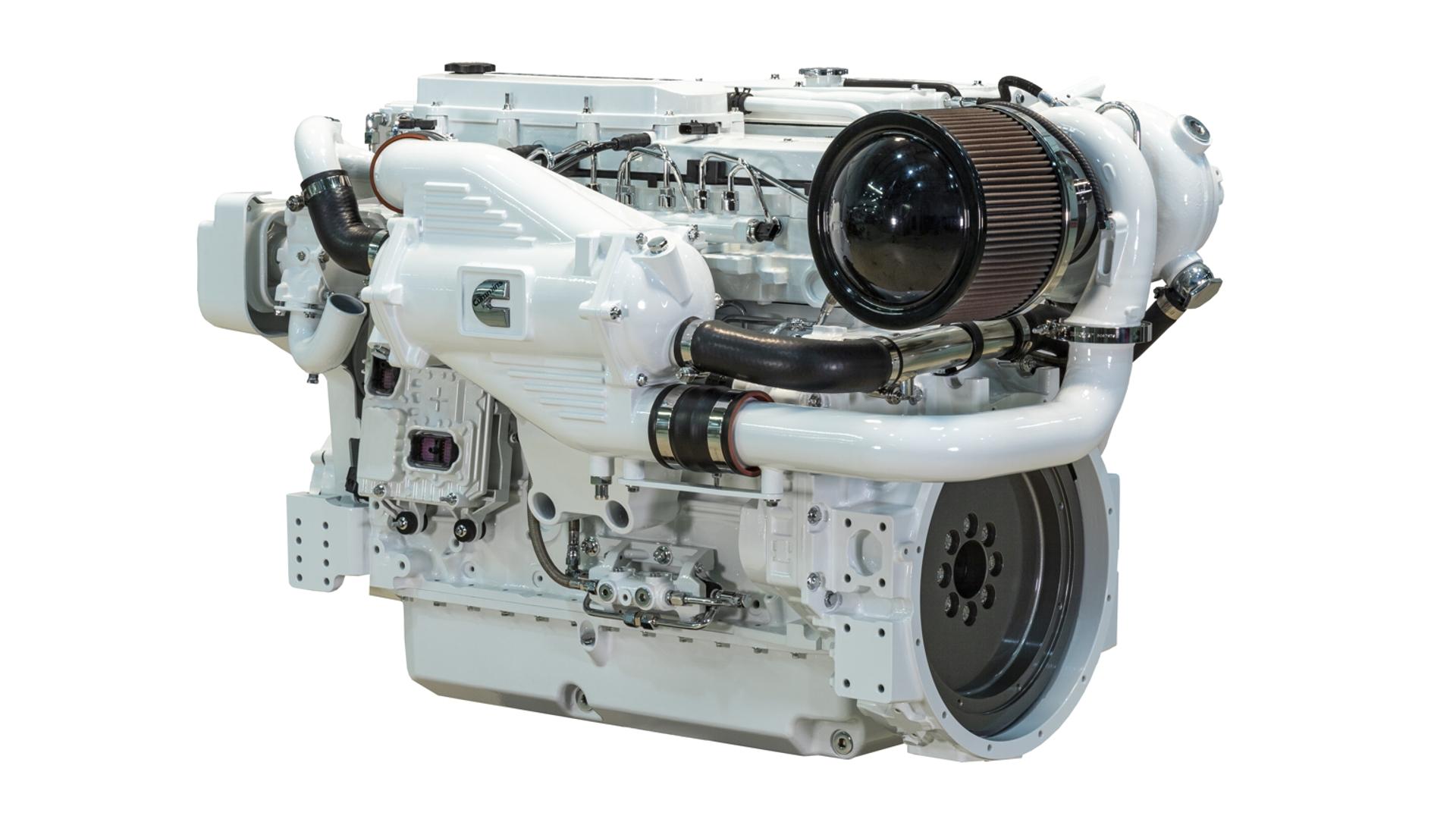 Cummins Marine Engine Display