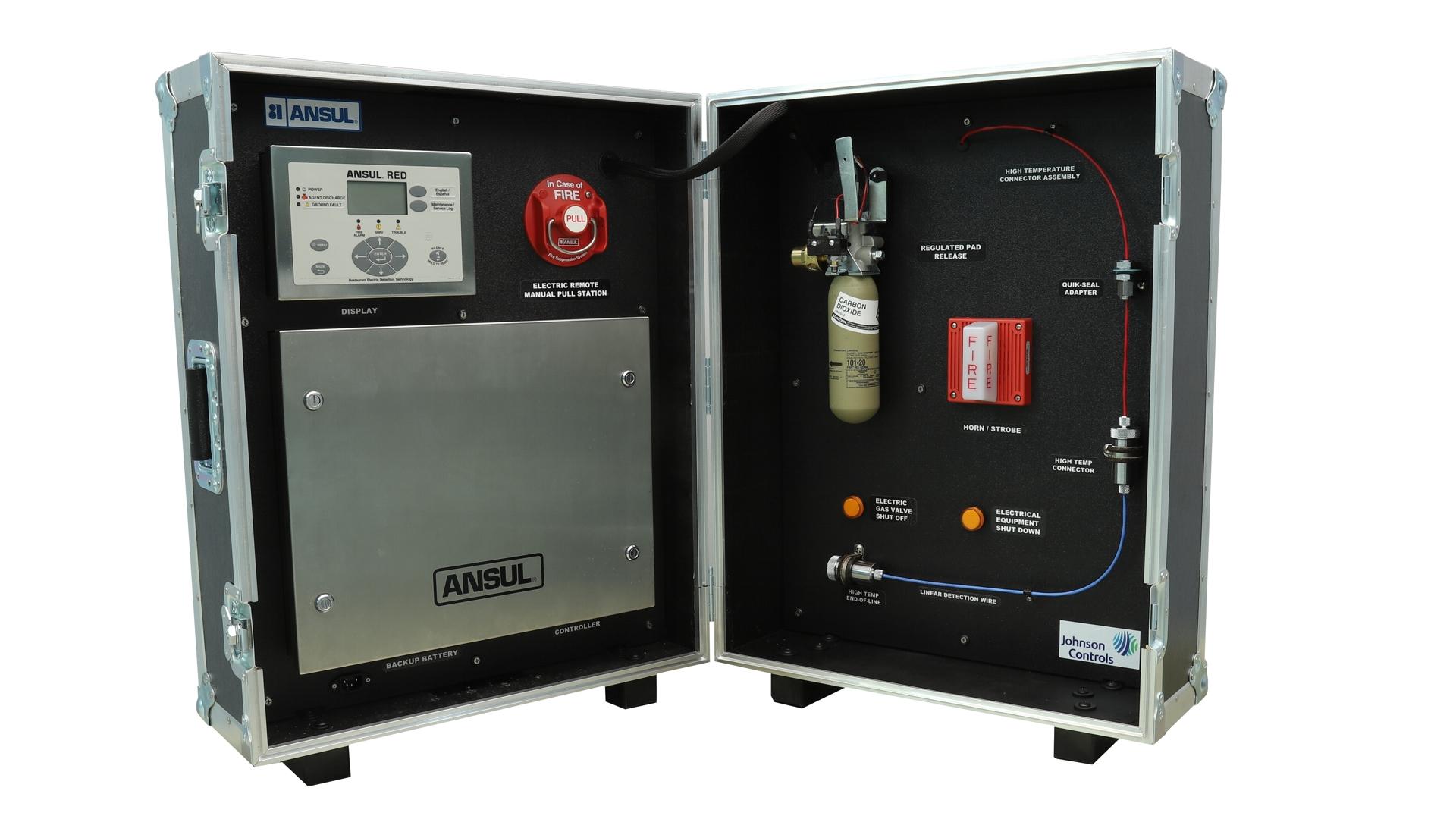 Ansul Fire Suppression System Simulator