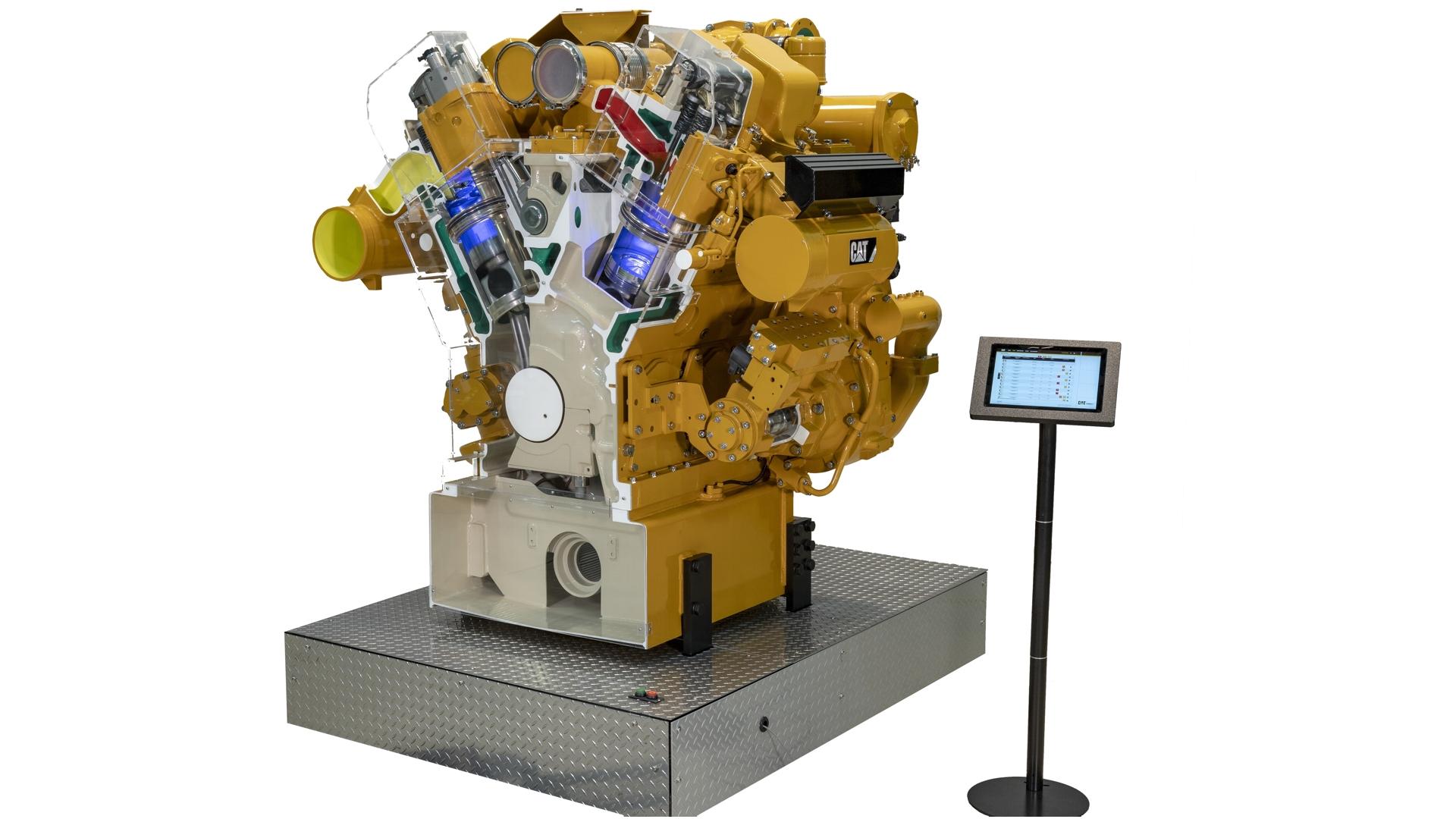 Caterpillar Diesel Engine Simulator